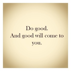 do good quote